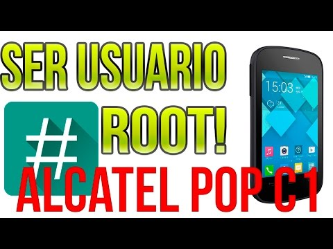 ROOT Alcatel ONE POP C1 4014A