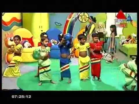 Sirasa Tv Punchi Panchi 14th july 2012 show, (South Asia International school) Kalagedi Dance