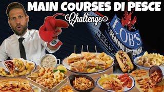 MANGIO PER 10 PERSONE UN MENÙ DI PESCE in stile AMERICANO (10 piatti - 5KG) MAN VS FOOD
