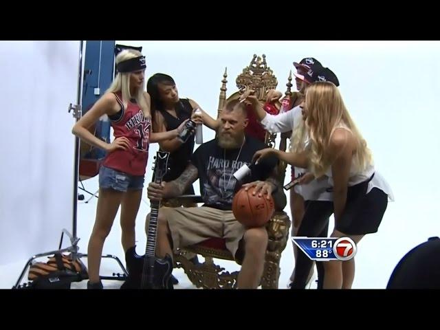 August 29, 2014 - WSVN - Miami Heat's Birdman is the New Spokesperson for Hard Rock Energy Drink