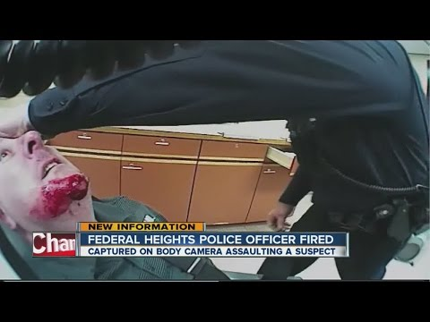 Police officer seen in excessive force video is fired