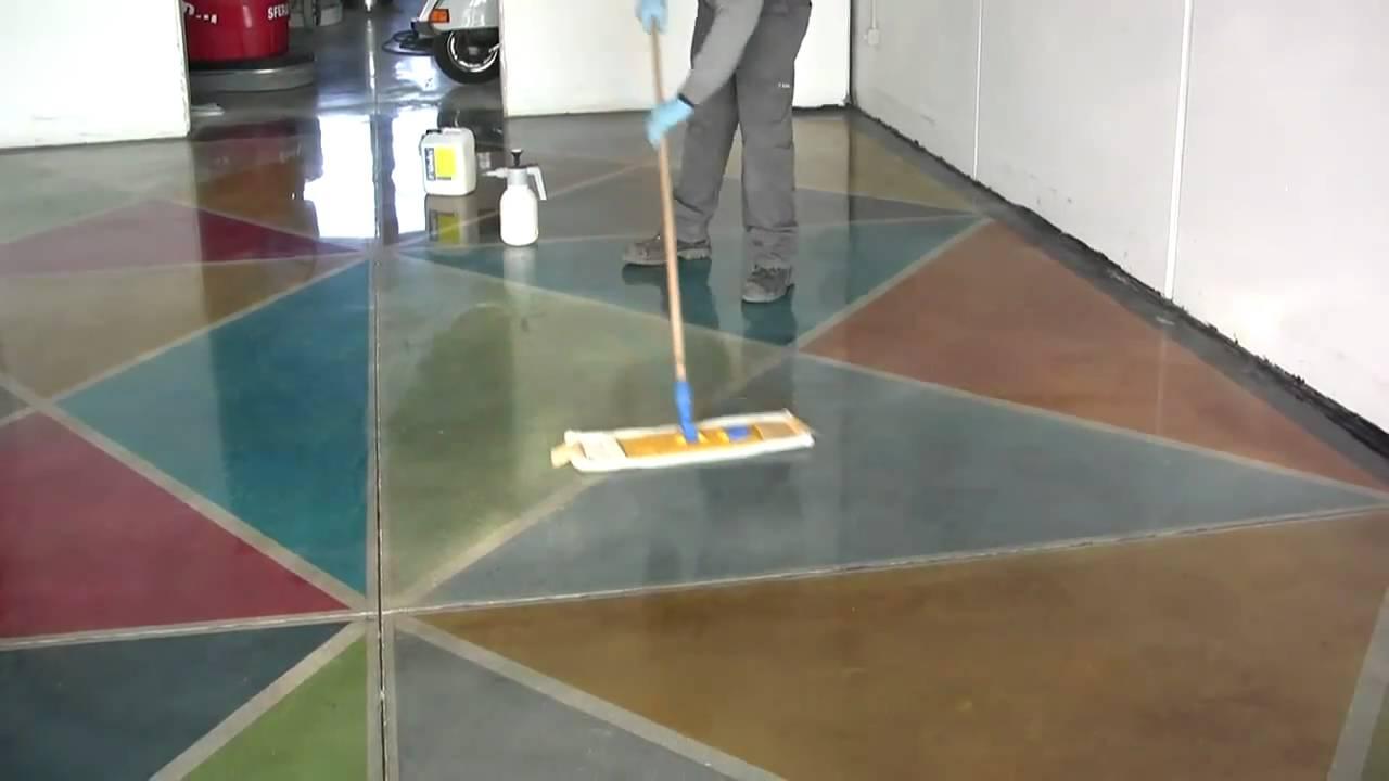Corso di lucidatura dei pavimenti in cemento Superconcrete ...