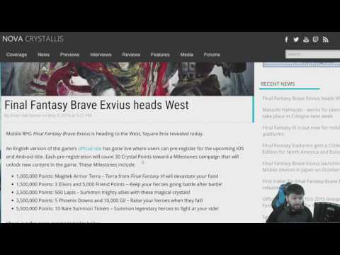 Final Fantasy Brave Exvius Coming to the West!