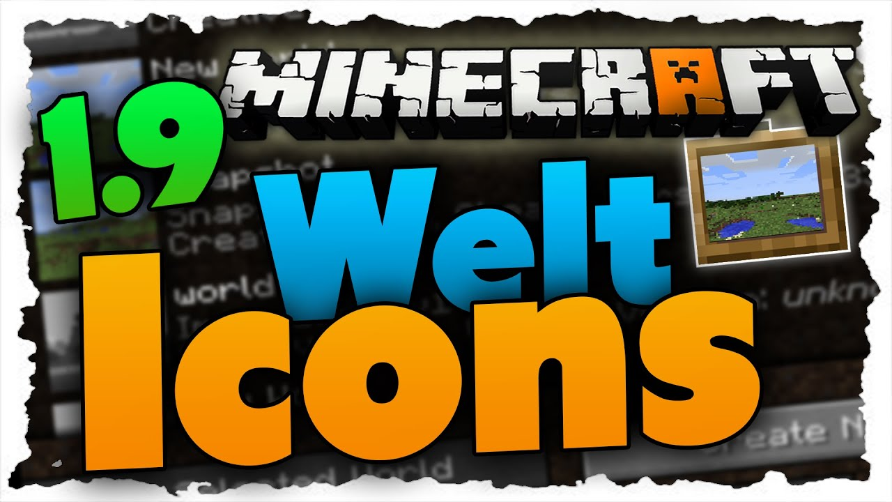 Welt-Icon ändern - Minecraft 1 9 Tutorial
