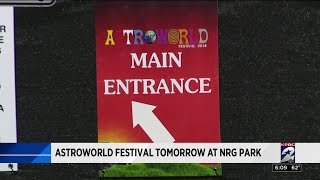 Astroworld Festival tomorrow at NRG Park