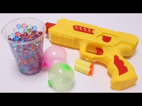 Orbeez Gun with Weird Balloon Maker
