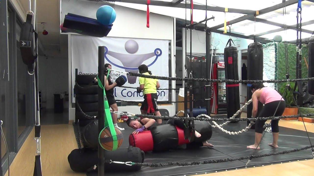 Entrenamiento del fitness con mma y entrenamiento for Entrenamiento funcional
