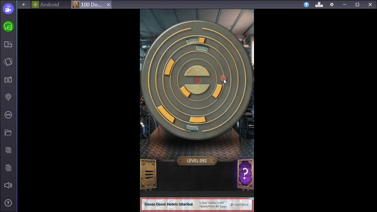 100 Doors Challenge Level 92 Youtube