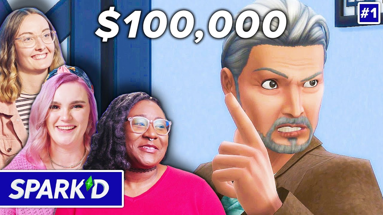 12 Pro Sims Players Compete For $100,000 In The Sims 4 • Spark'd Ep. 1 thumbnail