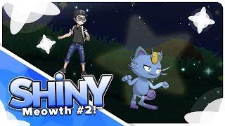 [Live] Shiny Meowth in 9 Random Encounters in Sun & Moon!
