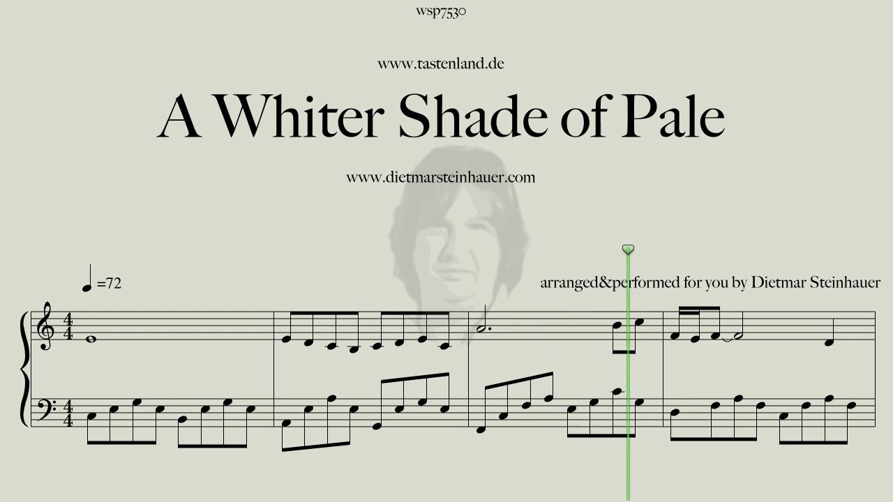 A Whiter Shade of Pale Chords   Chordify
