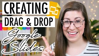 How to Create Drag and Drop Activities on Google Slides | EDTech Made Easy Tutorial