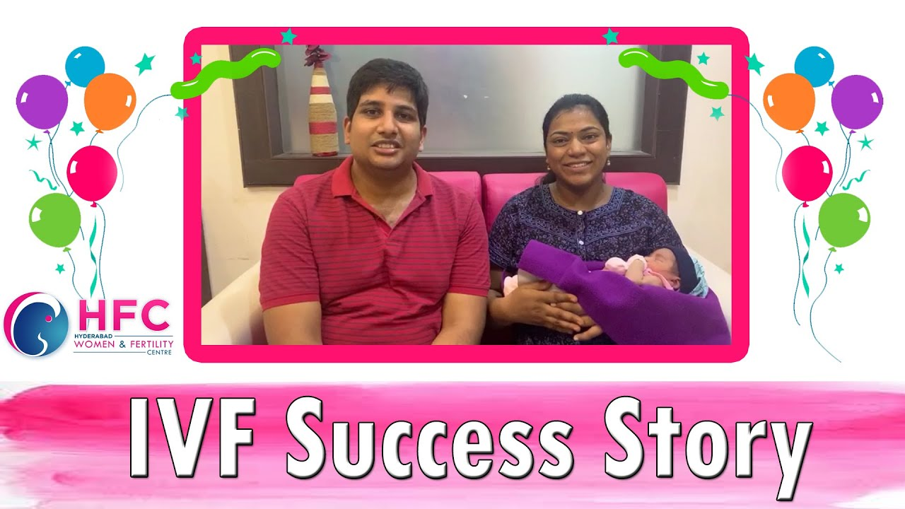 Our IVF Success Story ||  Pregnancy With #IVF Treatment  || Dr Swapna Chekuri || HFC