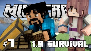 Minecraft - I GOT CAUGHT STEALING WOOD! Minecraft 1.9 Snapshot Let