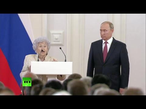 Путин вручает государственные награды за достижения в гуманитарных и научных областях — LIVE
