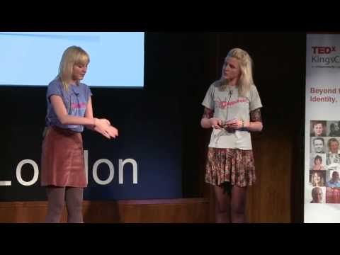 Beyond our genes: Identical with one big difference: Kris & Maren Hallenga at TEDxKingsCollegeLondon