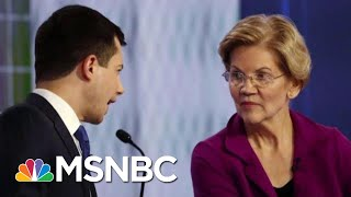 2020 Democrats Tangle Over Best Way To Close The Wealth Gap   Velshi & Ruhle   MSNBC