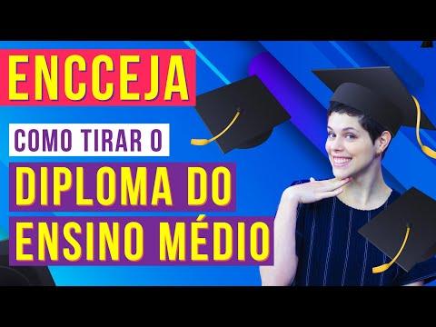 Видео Diploma do ensino medio