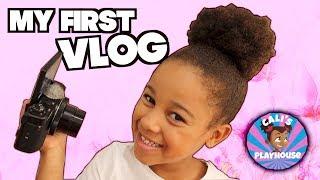Cali's First Vlog | Cali's Playhouse