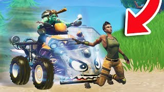 RUNNING PEOPLE OVER WITH THE QUADCRASHER! | Fortnite Funniest Fails