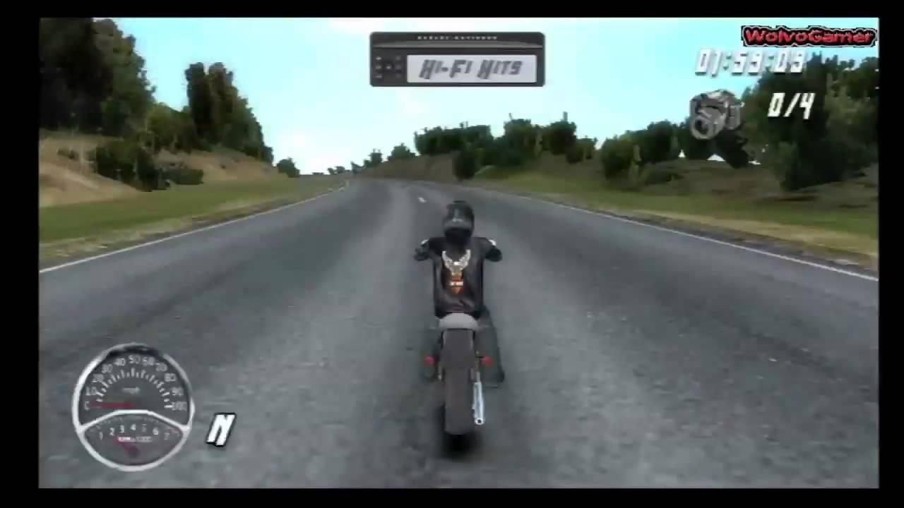 harley davidson road trip gameplay 'wii' | ps3 | xbox 360 - youtube