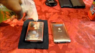 How to Remove Scratches From an Ipod, and Give it a Brushed Metal Look