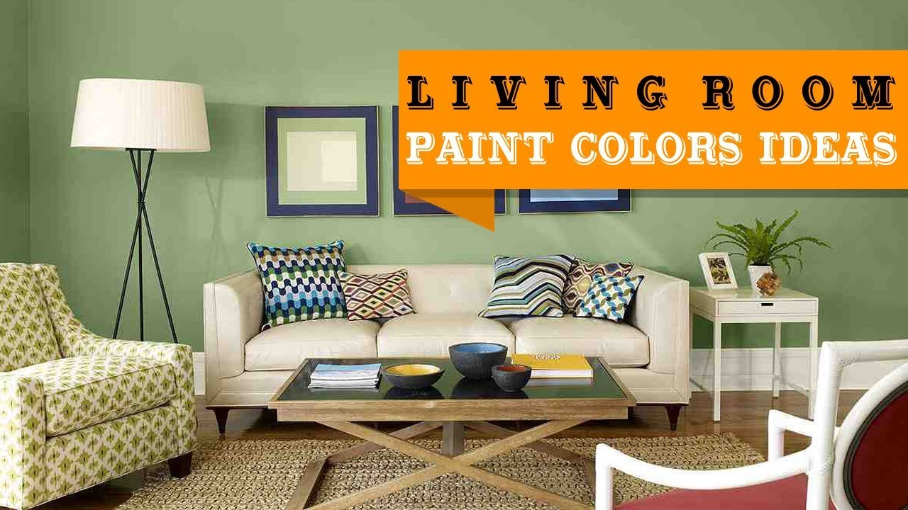 Futuristic Living Room Paint Color Ideas With Brown Furniture Decoration