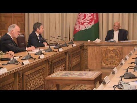 وزير الخارجية الأمريكي يزور أفغانستان لمناقشة الانسحاب العسكري…  - نشر قبل 2 ساعة