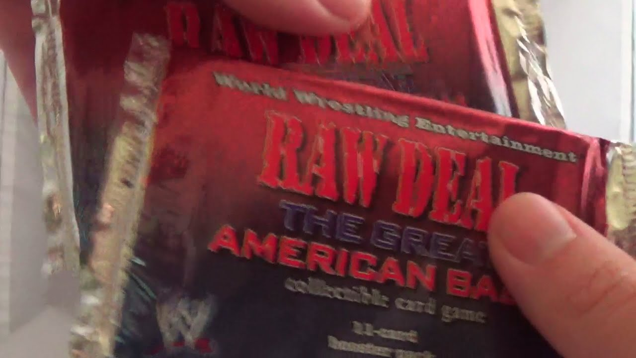 Opening 20 Assorted Wrestling Trading Card Packs Part 4 - WWE Raw Deal The Great American Bash