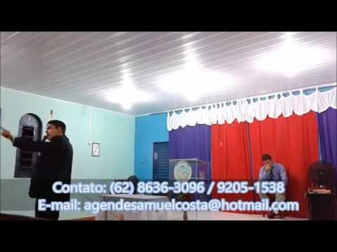 Missionário Samuel Costa Pregando sobre o Vaso do Oleiro, na Igreja Só o Senhor é Deus