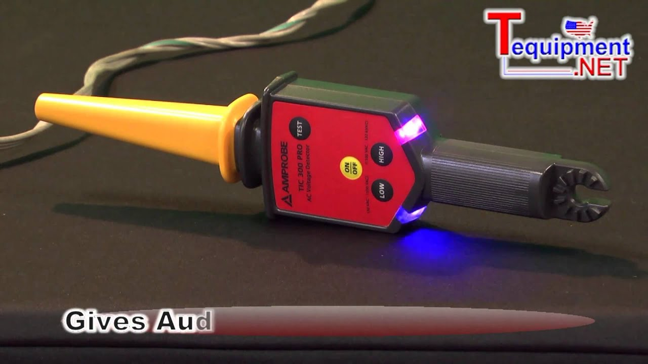 High Voltage Tic Tracer : Amprobe tic pro high energy tracer non contact ac