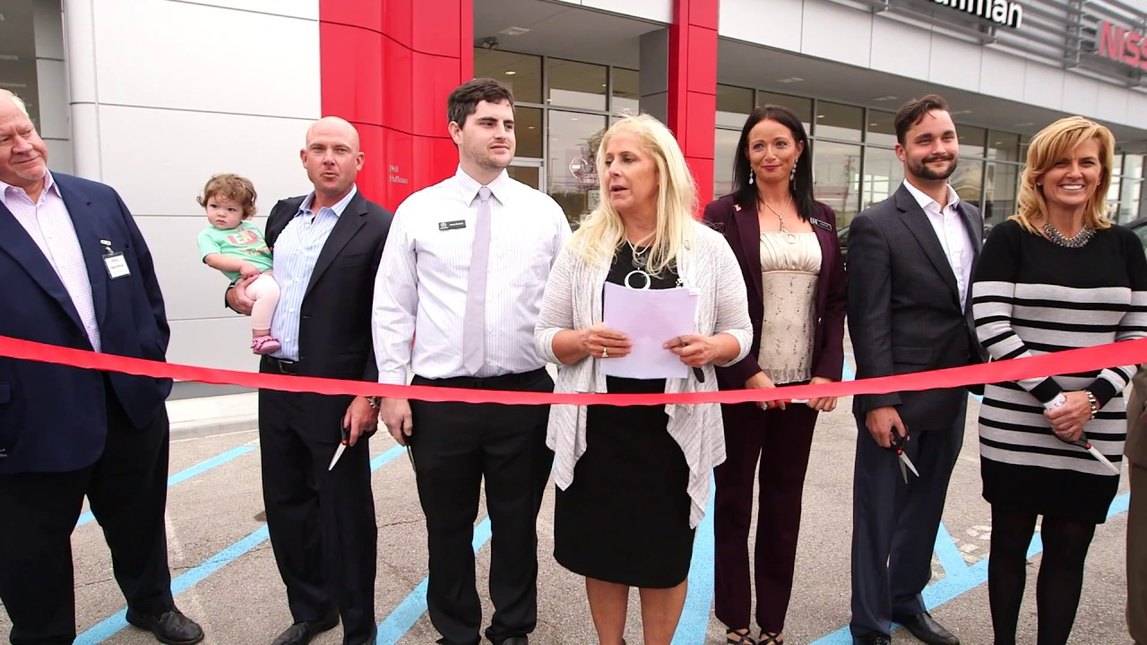 Neil huffman auto mall of frankfort grand opening ribbon cuttings