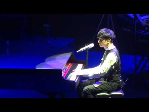 160221 JJ Lin performing Ed Sheeran - Thinking Out Loud @ Shrine Auditorium in LA- By Your Side