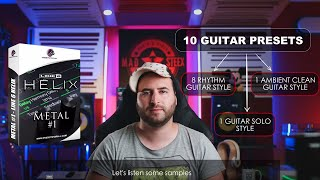 Metal #1 Guitar presets pack for Line6 Helix Native by Presets For All -  Review
