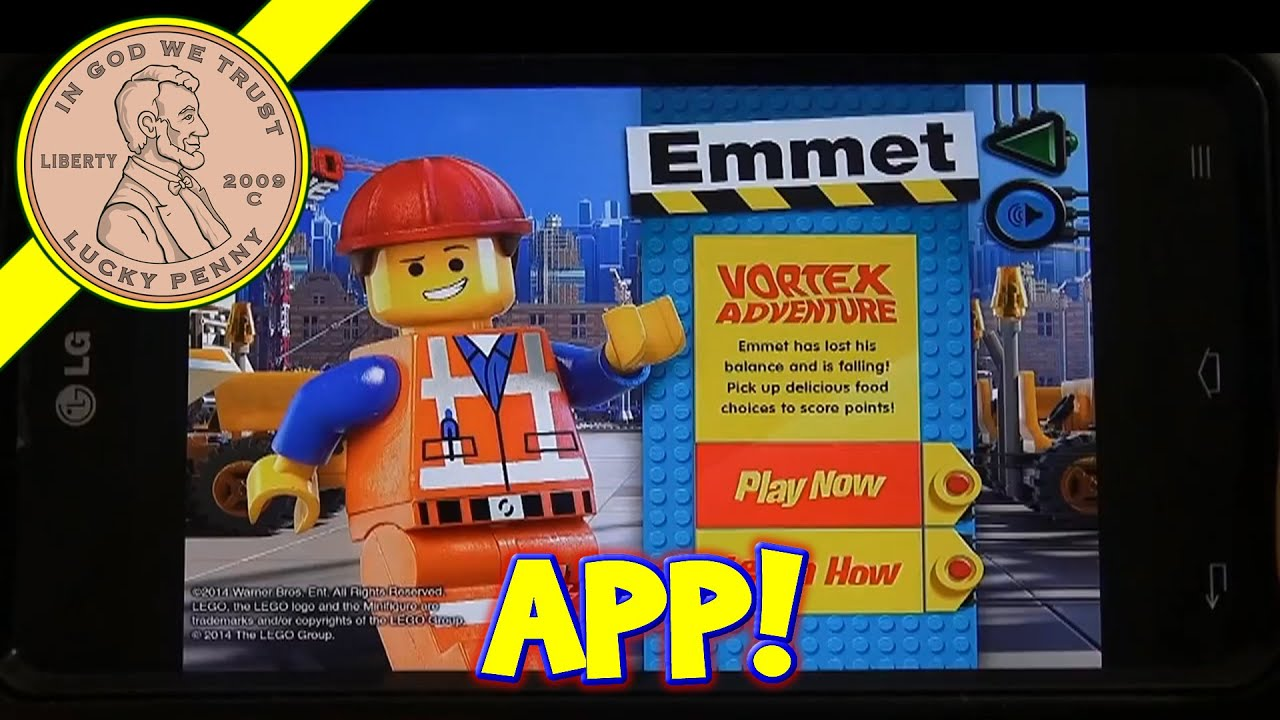 The Lego Movie Mcplay App 8 Game Mcdonalds Happy Meal