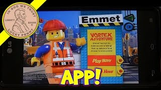 The Lego Movie - McPlay App 8 Game McDonalds Happy Meal Cup Series