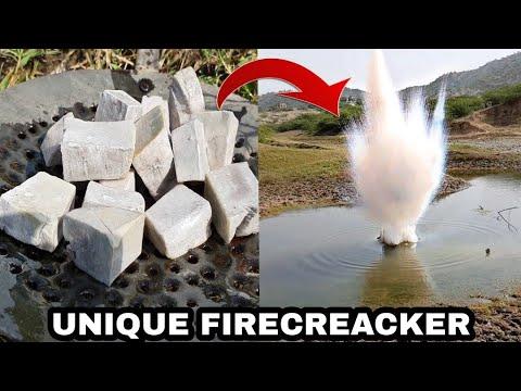 गजब - यह एक पटाखा है जो सिर्फ़ पानी में चलता है - Sodium metal in Hindi It's like a firecracker