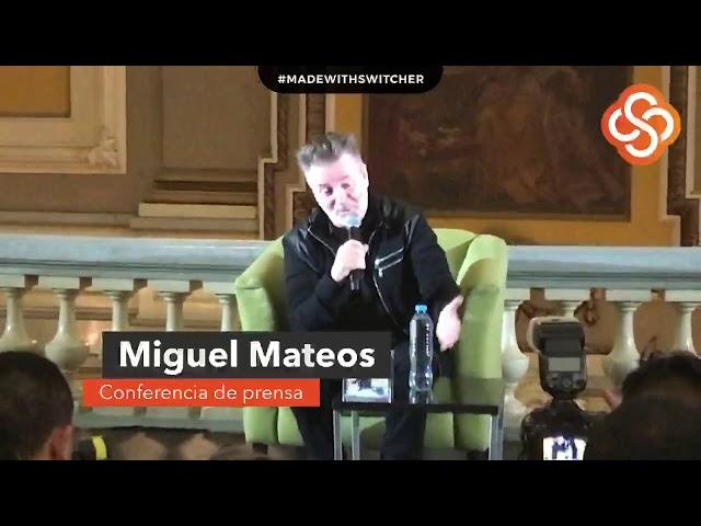 Miguel Mateos (conferencia de prensa)