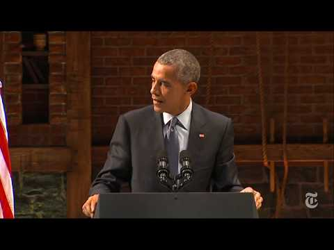 US President Barack Obama on Senator Jim Inhofe