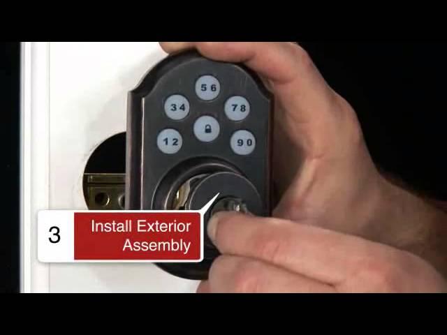 Electronic Deadbolt Kwikset SMARTCODE 910 Smart Door Lock Keyless Entry Keypad