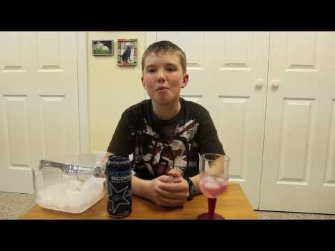 Rockstar Recovery Grape Taste Test