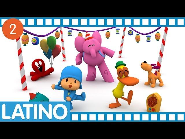 Pocoyó en español para América Latina - Temporada 01 Ep. 5-8 Videos De Viajes