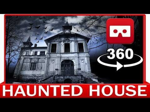 360° VR VIDEO - CIRCUIT OF HAUNTED HOUSE - CAR HORROR - VIRTUAL REALITY 3D