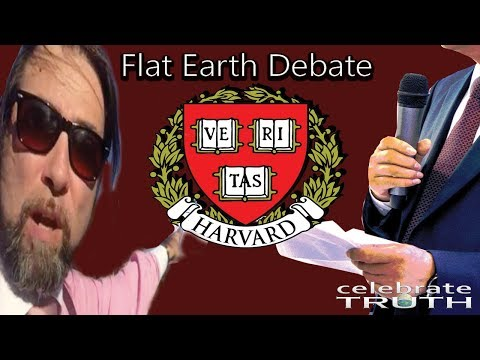 Man Challenges Harvard Students & Professors to Flat Earth Debate! People Get TRIGGERED!