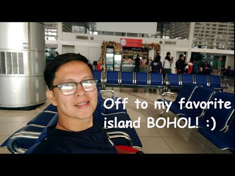 Philippine Airlines Flight: Manila to Tagbilaran City, Bohol Philippines