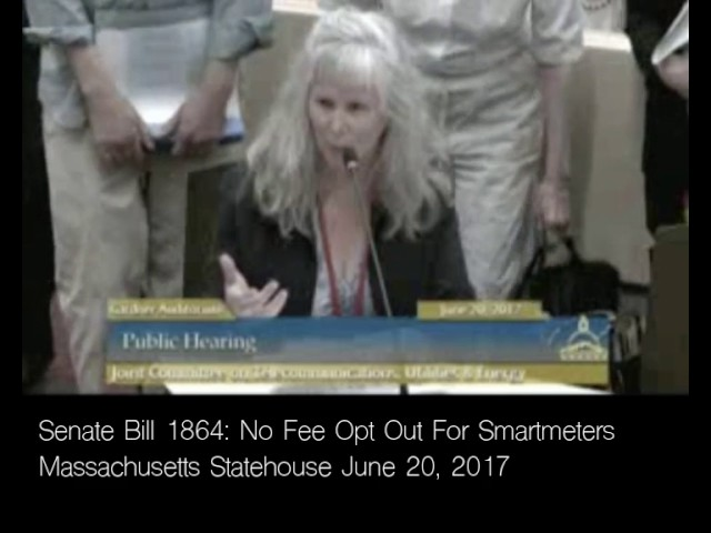 S.1864 Massachusetts Statehouse Hearing on Smartmeters June 20, 2017