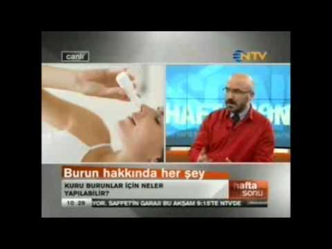 Burun Kuruluğu tedavisi... Op.Dr. Süreyya Şeneldir