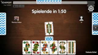 3 Schafkopf Solos Geier Wenz Android game screenshot 5