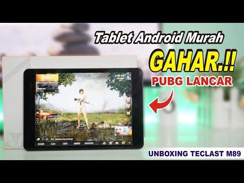 Tablet Murah Spek GAHAR.!! PUBG LANCAR #Unboxing TECLAST M89