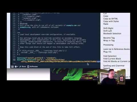 Drupal 8 Configuration Management Workflow